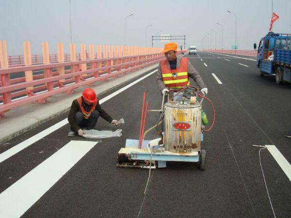 重庆高速道路划线